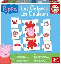Rompecabezas para niños 42 piezas-Peppa cochino: colores (lernpuzzle) de educa