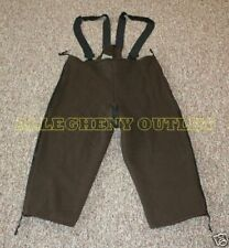 US Military Surplus HUNTING BEAR BIB MENS OVERALLS LARGE LONG VG NICE