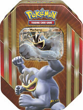 NEW Pokémon Trading Card Game Triple Power Tin Machamp/Mewtwo/Shiny Gyarados!