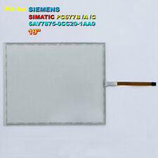 """1PC New Touch Screen Glass for SIMATIC 6AV7875-0CC20-1AA0 PC677A-19 PC 677A 19"""""""
