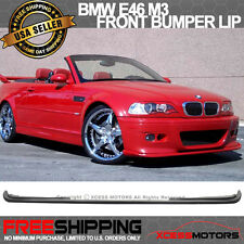 01-06 H-Style BMW E46 M3 Poly-Urethane Front Bumper Lip Spoiler