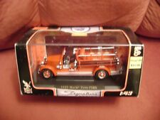 1935 Mack Type 75BX Fire Truck 1:43 scale Die-Cast /  New in box
