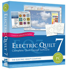 EQ7 Electric Quilt 7 Design Software for PC, NEW, Factory Sealed FREE SHIPPING