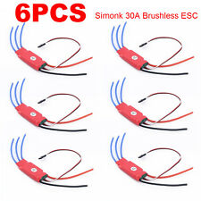 6x 30AMP 30A SimonK Firmware Brushless ESC w/3A 5V BEC for RC Quad Multi Copt YS