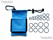 Carrying Pouch and O-Rings (BL-24OR) for Vapes,RDA,RBA,Drip Tips, APVs and Mods