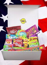 Large American Sweet Hamper. Nerds, Dr Pepper Gummies, Wonka, Charleston Chew...