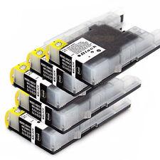 5 Ink Cartridge LC73 BK lc77 Black for Brother MFC J430W J432W J6510DW Printer