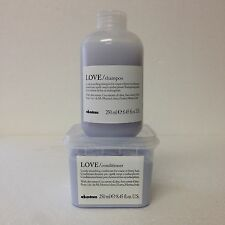 Davines Love Smoothing Shampoo and Conditioner 8.45 oz  SET