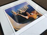 Rare SUPERTRAMP BREAKFAST IN AMERICA FRAMED ALBUM COVER PHOTO / 1979 Promo Mint