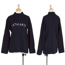 agnes b.  Shoulder Zip high-necked Knit sweater Size 3(K-36631)