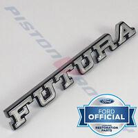 FUTURA Guard Badge , Chrome BRAND NEW for Ford XA XB 351 GT V8 Falcon
