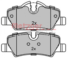 Bremsbelagsatz Scheibenbremse für Bremsanlage Hinterachse METZGER 1170343