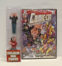 SDCC EPISODE IV A FAN'S HOPE DVD JOSS WHEDON  MORGAN SPURLOCK MINI FIGURES NECA