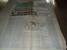 GUERIN SPORTIVO  1-5 GENNAIO 1970-è SEMPRE JUVENTUS-GIALLO AGGREDITO FABBRI-B25