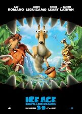 POSTER L'ERA GLACIALE THE ICE AGE 2 3 MANNY SID DIEGO 3