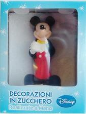 Mickey Mouse icing sugar paste model birthday cake topper decoration 9.5cms tall