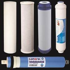 5 RO Replacement Water Filters Reverse Osmosis Cartridges w/ 100 GPD Membrane
