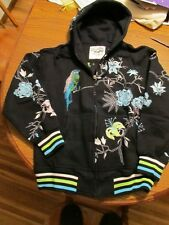 High Class Society Hoodie Jacket Rhinestone Men's  L Large
