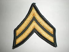US ARMY CORPORAL E-4 RANK ARMY GREEN -1 PAIR