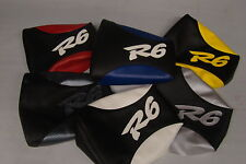 REAR SEAT COVER ON VINYL FOR YAMAHA YZF R6 99 00 01 02