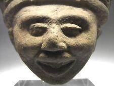 B.C.A.D. ART - 600 - 900 A.D. VERA CRUZ SONRIENTE HEAD