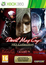 DEVIL MAY CRY HD COLLECTION  NUEVO Y PRECINTADO TEXTOS EN ESPAÑOL XBOX 360