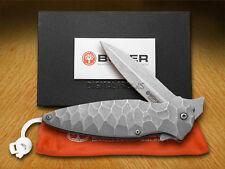 BOKER TREE BRAND Titanium Linerlock Flint Knife N690BO Stainless Knives