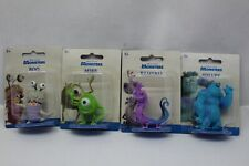 """Disney Pixar Monsters Inc Mike, Sully, Randall & Boo 2.5"""" Figure Cake Toppers"""