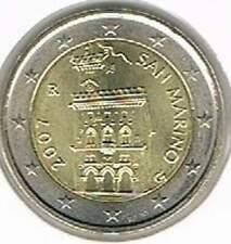 San Marino 2007 UNC 2 euro : Standaard