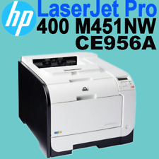 HP Laserjet Pro 400 M451nw (CE957A) Office Workgroup Colour Duplex Laser Printer