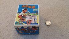 Vintage Clockwork Ice Cream Vendor Wind-Up WITH ORIGINAL BOX 1970's