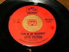 VITO PICONE - PATH IN THE WILDERNESS - GET ON THE RIGHT  / LISTEN - TEEN POPCORN