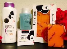 6pcs Set Kojie San Skin Whitening Lotion SPF25 Toner Facial Face Cream Body Soap