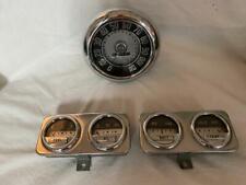 1949 Mercury SPEEDOMETER & GUAGES, BATTERY, TEMP, OIL, FUEL.