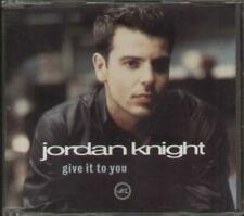 JORDAN KNIGHT Give It To You  CD 4 Tracks, Radio Edit Without Waltz/Red Tacones
