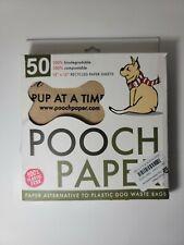 Pooch Paper dog waste sheets