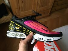 Nike Air Max Plus III TUNED Hyper Violet US10 44 TN Cj9684-003 blue black