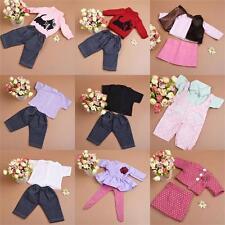 Handgemachte Puppe Kleidung Unterwäsche Hosen  Schuhe Zubehör für 18Zoll Mädche~