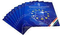 10x Ungarn 238 Forint 2004 BU KMS 1 Forint bis 100 Forint zum Beitritt im Folder