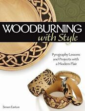 Woodburning with Style by Simon Easton Paperback Book (English)
