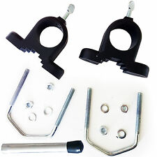 "U/V Bolt Mounting Bracket Adapters For 1"" Mast - Portable Aerial/Satellite Dish"