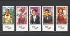 China Hong Kong 2005 Hong Kong Pop Singers stamps + Dragon Logo
