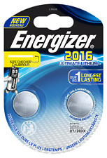 Energizer Ultimate Lithium CR 2016 3V Performance Knopfzelle im 2er Maxiblister