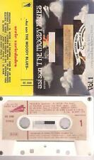 THE MOODY BLUES Asi son  DIFFICULT SPANISH TITTLES CASSETTE PAPER LABEL  SPAIN