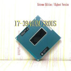 Intel Extreme Core i7-3940XM (SR0US)/quad core / 3.0GHz  / G2 notebook processor