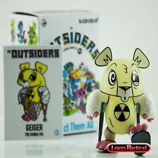Geiger The Outsiders Vinyl Mini Series Kidrobot x Joe Ledbetter Brand New