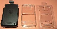 Speck SeeThru Ultra Clear Hardshell case for Motorola MOTO Q9h w Holster, NEW