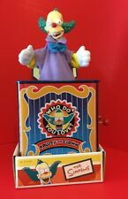 Krusty the Clown The Simpsons Musical Jack In The Box Toy 2002