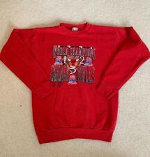 Chicago Bulls 1993 Three-peat Crewneck Youth XL Pre Owned