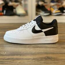 Nike Air Force 1 '07 Low NBA Gr.42,5 weiß schwarz BQ4420 100 Sneaker Schuhe